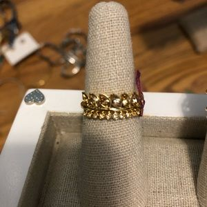 Stella and dot brier sparkle ring